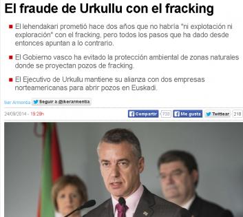 Urkulu fracking