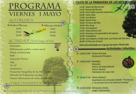Fiesta primavera Villarcayo