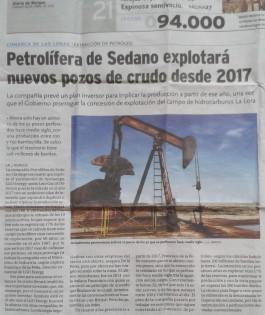 Noticia La Lora Fracking