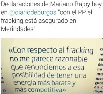 rajoy fracking burgos 19-5-2015