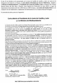 carta 7000 firmas