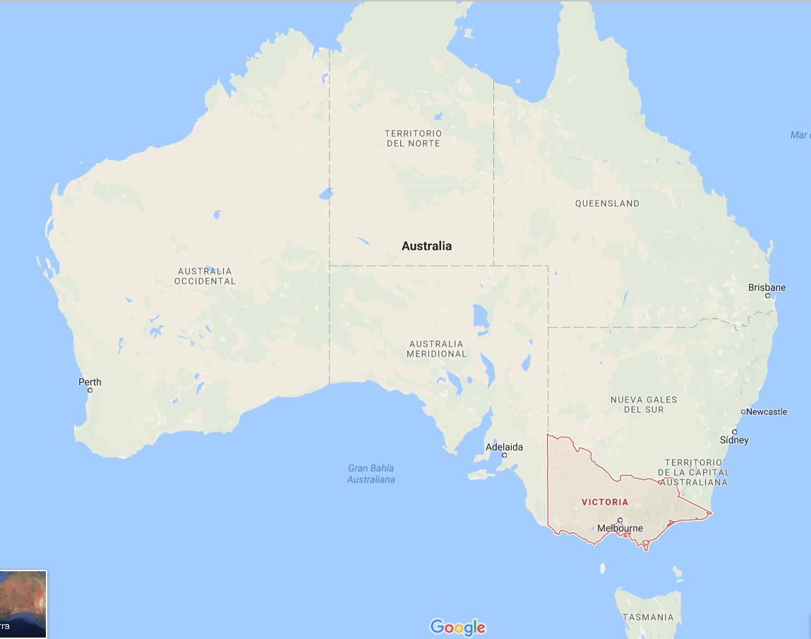 Australia Victoria prohibe fracking